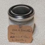 ソイキャンドル(紫陽花とチューリップ)